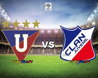 Liga de Quito vs Clan Juvenil - Viernes 08 de Diciembre del 2017 - Partido Jornada 22