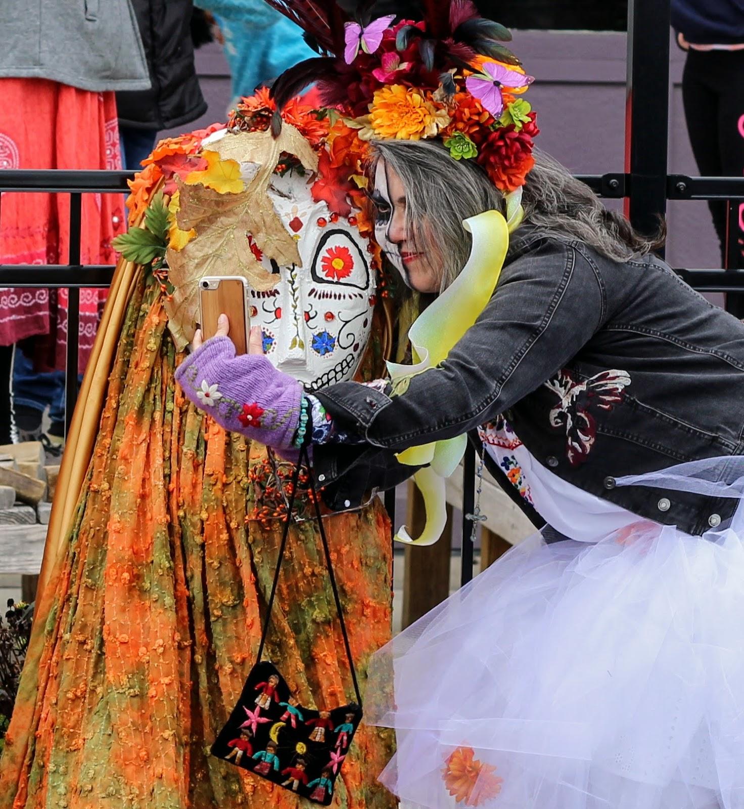 Dayton Ohio Dia de los Muertos Parade 2017