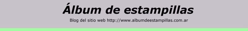 Álbum de Estampillas