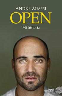 """Portada de """"Open"""", autobiografía de André Agassi"""
