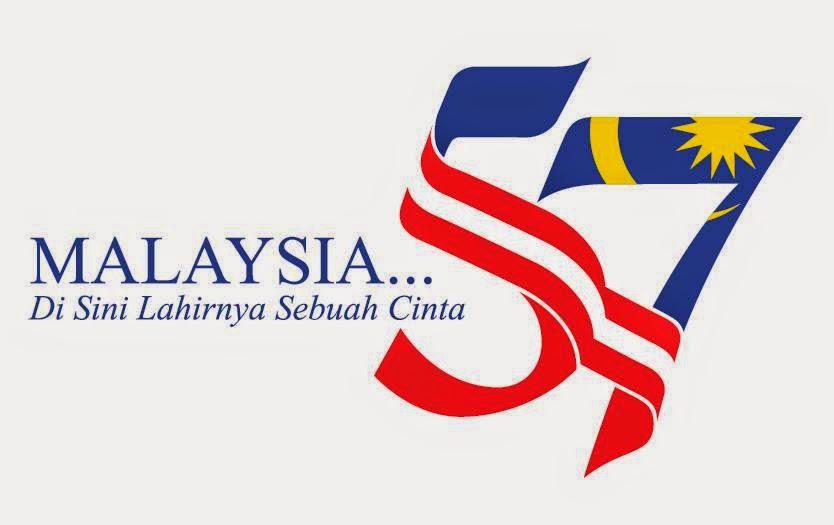 Logo Hari Kemerdekaan Ke 57