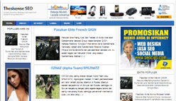 Download Thesisense Template Blogger SEO Friendly 2014