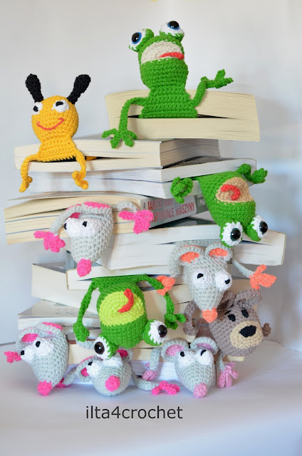 Atak szydełkowych zakładek do książek ;)