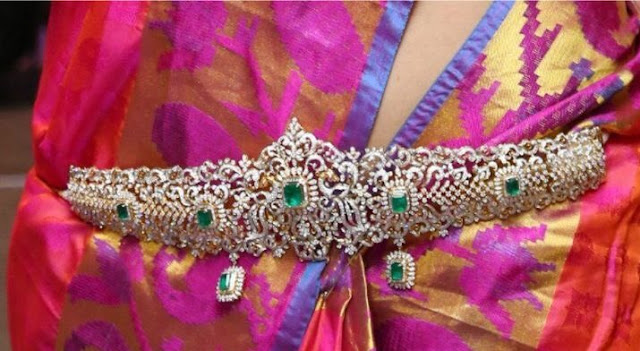 Rich and Grand Diamond Waist belts