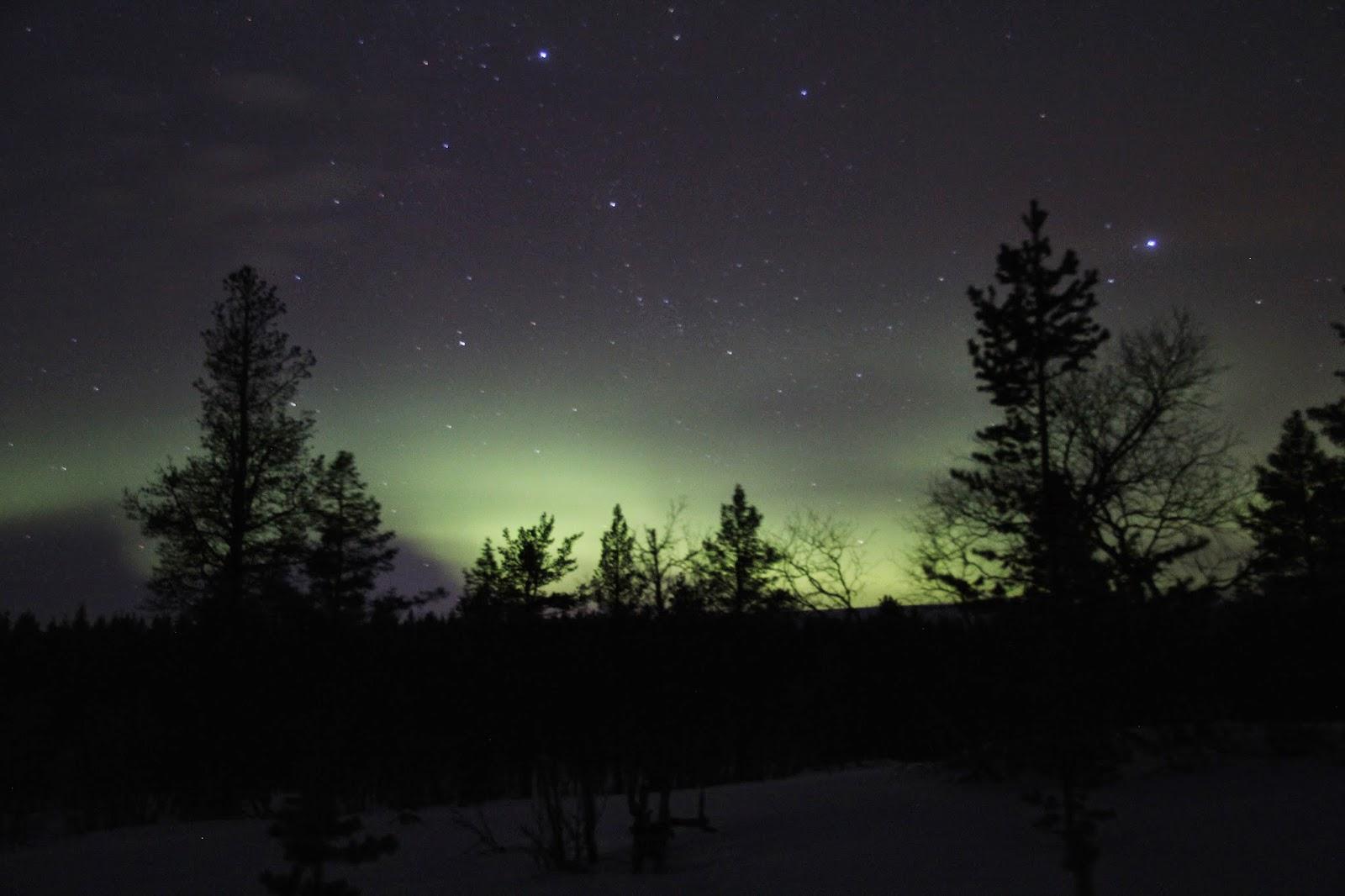 Aurora Borealis Northern Lights Finland