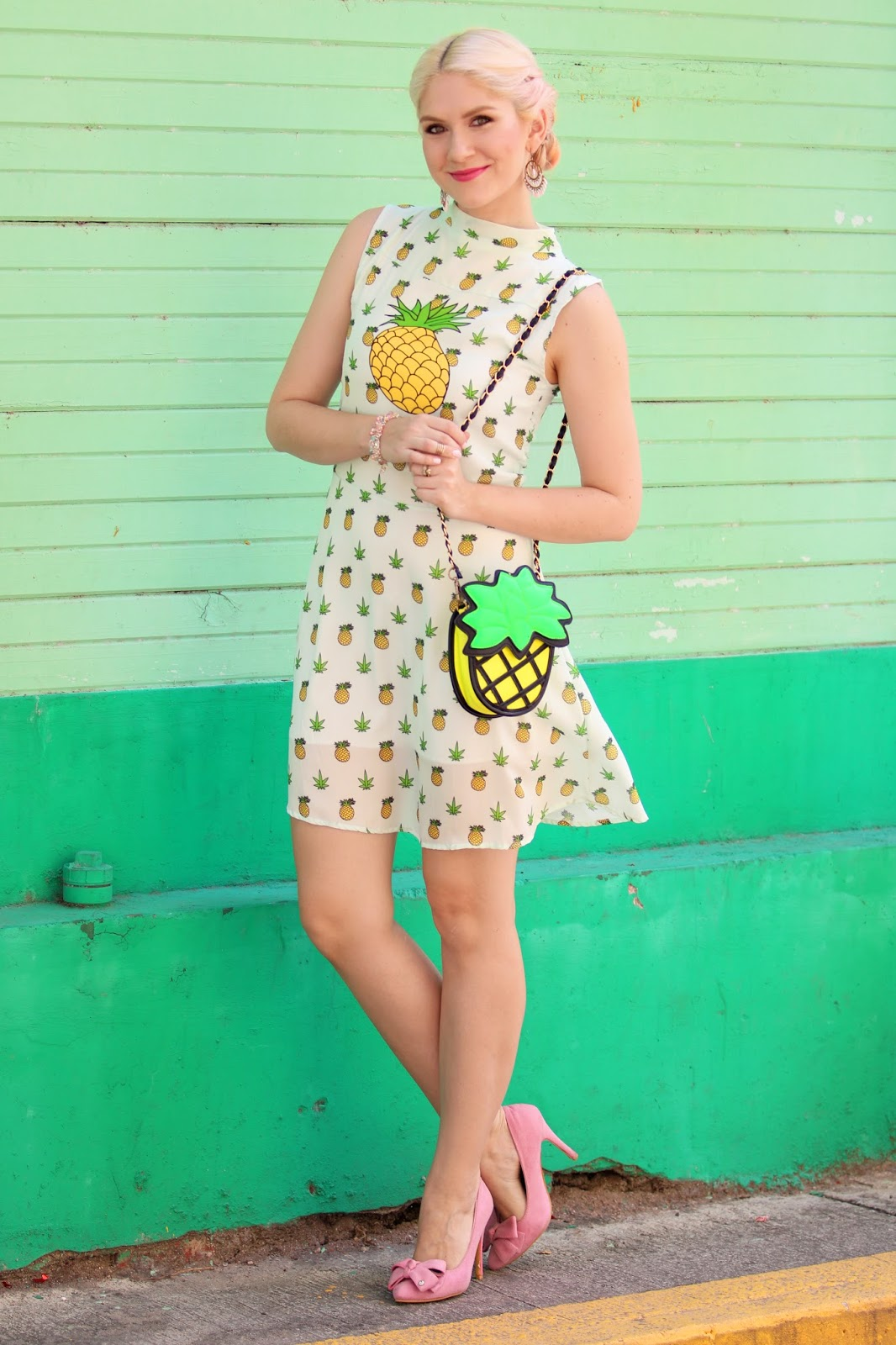 Cute pineapple dress