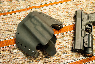 Holster for Glock and light