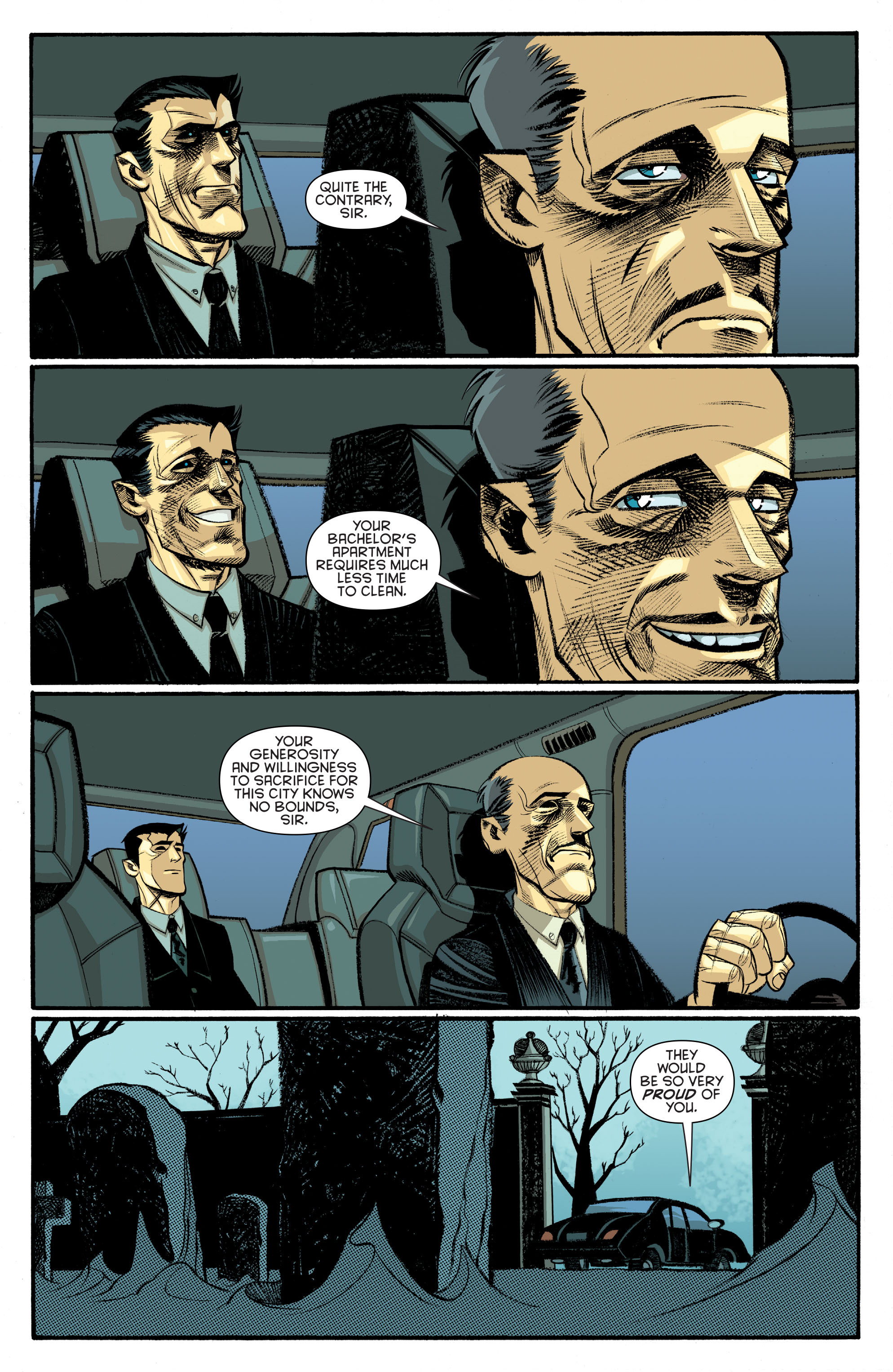 Read online Arkham Manor comic -  Issue #6 - 15