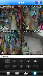 cara streaming cctv di hp android