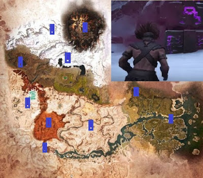 Conan Exiles, Fast Travel, Obelisks Locations Map