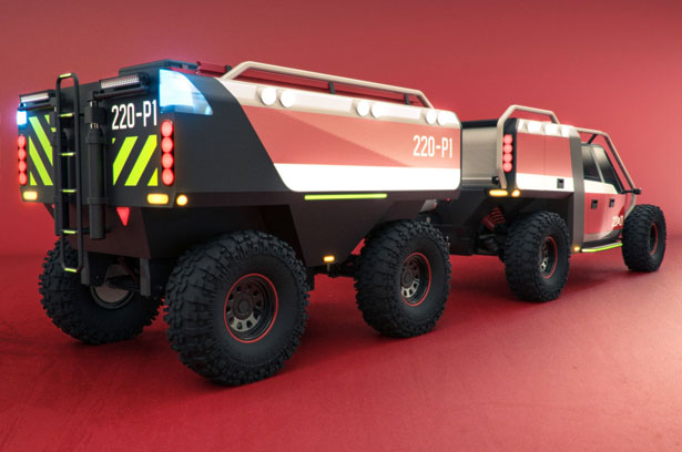 See The Concept of These Fire Trucks