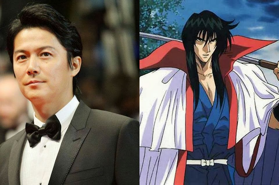 Masaharu Fukuyama Revealed to be Kenshin's Teacher Seijuro Hiko
