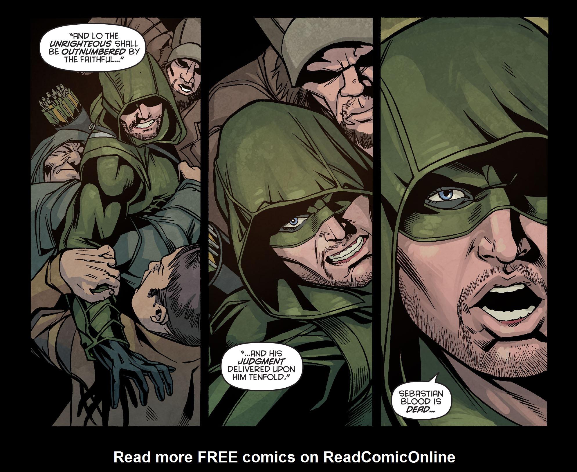 Read online Arrow: Season 2.5 [I] comic -  Issue #6 - 3
