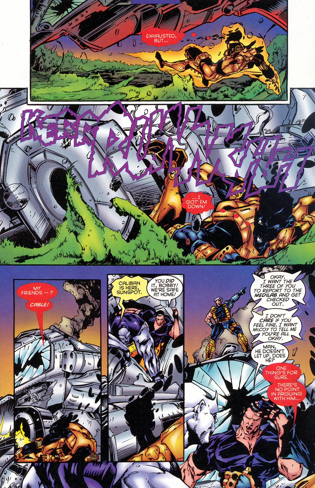 Read online X-Force (1991) comic -  Issue #47 - 12