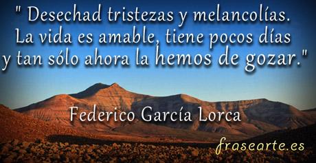 Frases motivadoras de Federico García Lorca