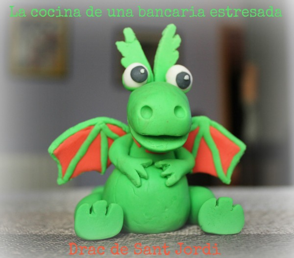 como hacer un dragón con fondant
