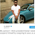 President Buhari needs to suspend himself by resigning to save us all - Music producer, Samklef says