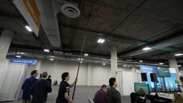 Тестирование SteadXP на выставке CES
