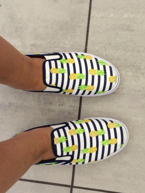 New In: Pineapple Shoes