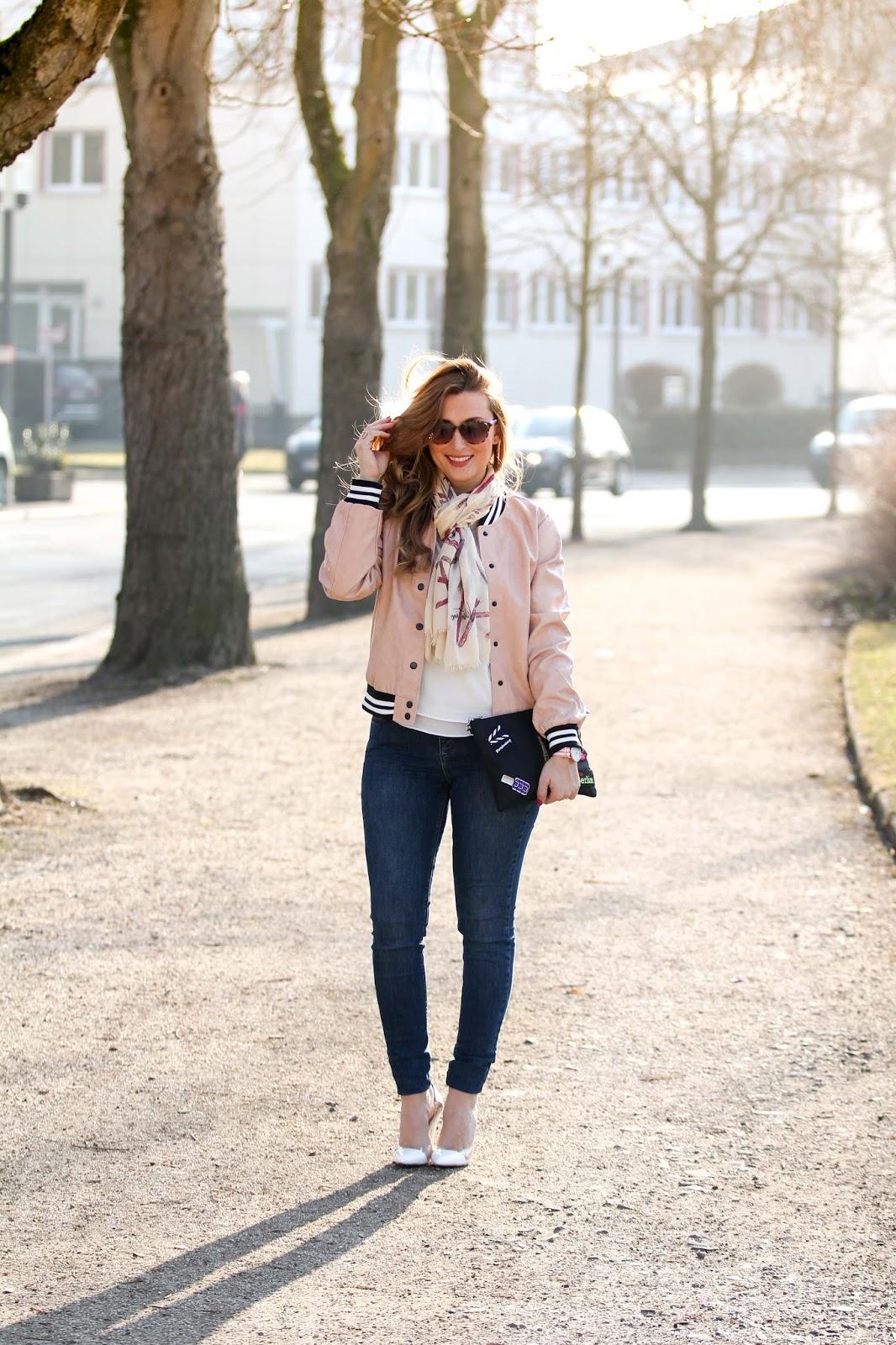 college jacke - blogger aus Deutschland -fashionstylebyjohanna