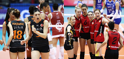 Rexona e Osasco perdem para times turcos no Mundial