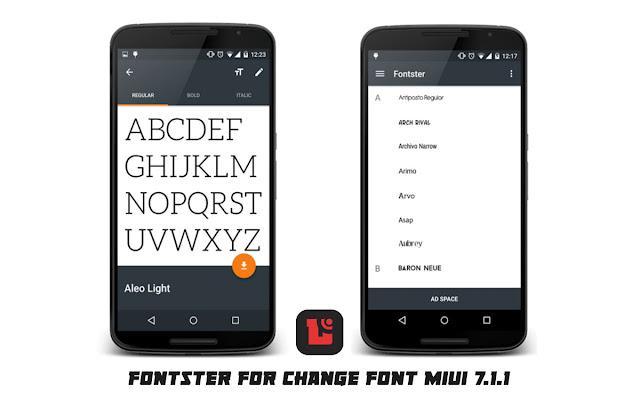 Bagi kalian pengguna device Xiaomi dengan versi MIUI  Cara mudah ganti font di MIUI 7.1.1