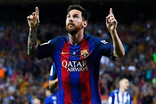 Messi Scores 300th Goals At The Nou Camp In Their Victory Against Eibar