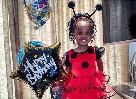 Asamoah Gyan wishes his daughter a happy birthday
