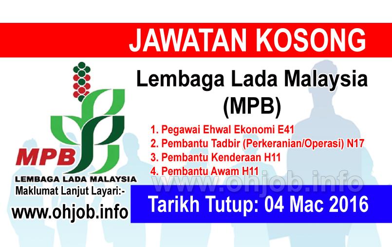 Jawatan Kerja Kosong Lembaga Lada Malaysia (MPB) logo www.ohjob.info mac 2016