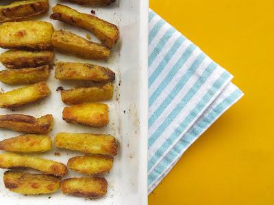 Batata-Doce Crocante com Curry (vegana)