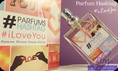Parfum #hashtag - I love You