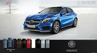 Mercedes AMG GLA 45 4MATIC 2015 màu Xanh South Seas 162
