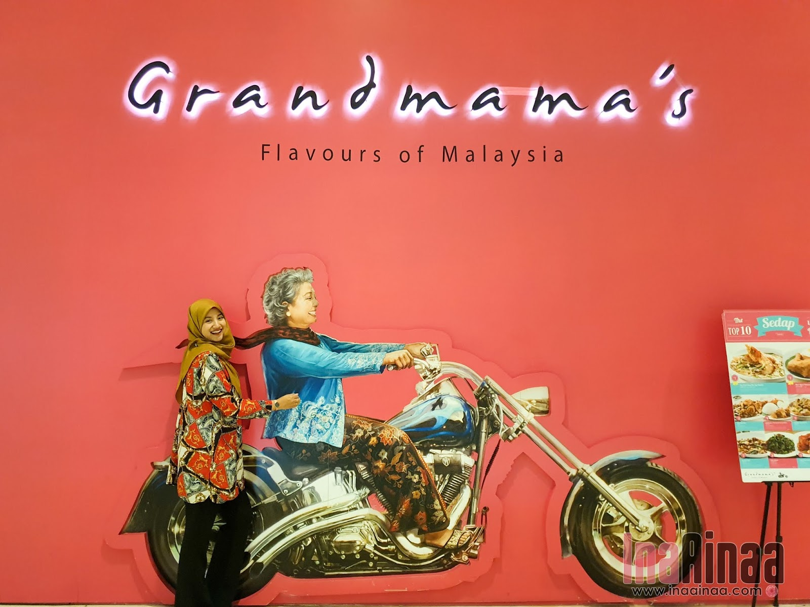 Santapan Bersama Grandmama's - Hak Milik Ina Ainaa