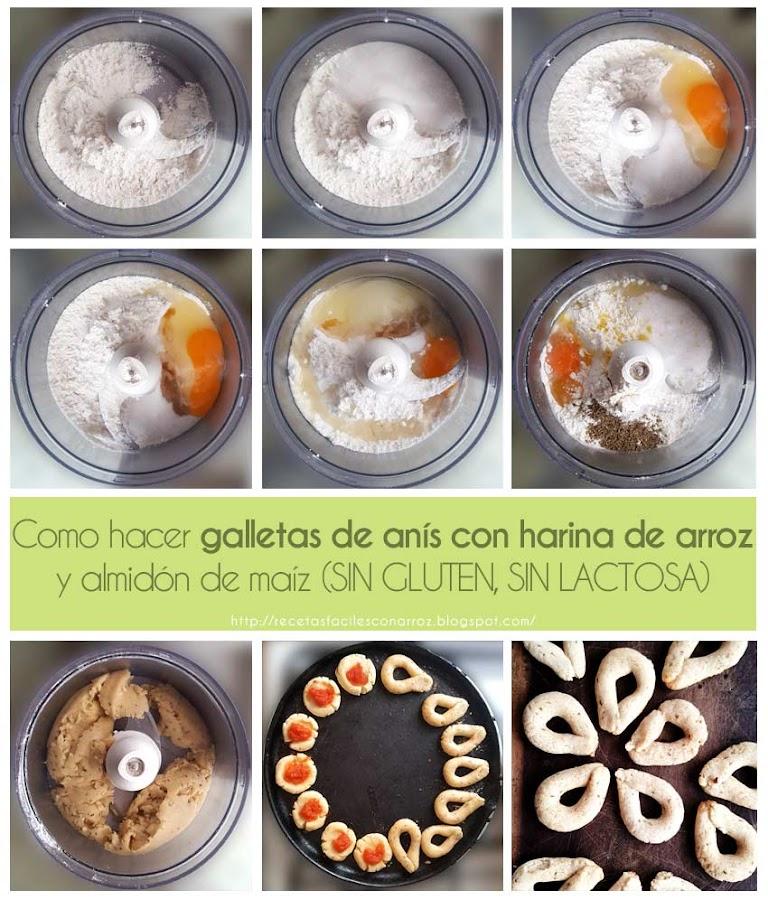 receta galletas de anis