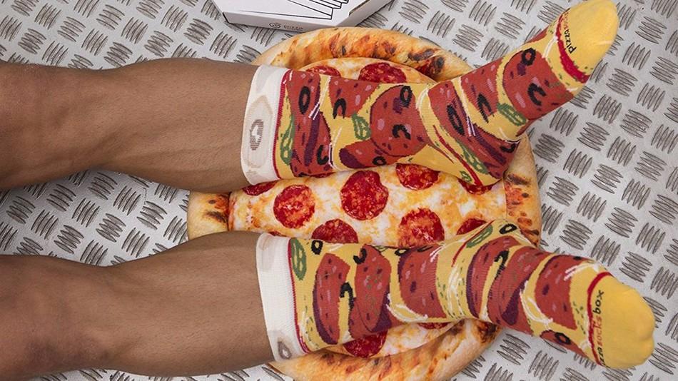 Die Pizza Socks Box | Pizza Socken für deine Füße
