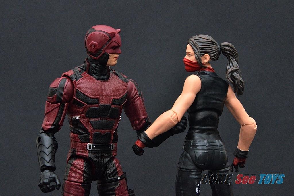 Marvel Legends BAF Man Thing Head Daredevil Series