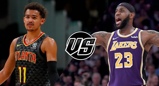 Live Streaming List: Atlanta Hawks vs LA Lakers 2018-2019 NBA Season