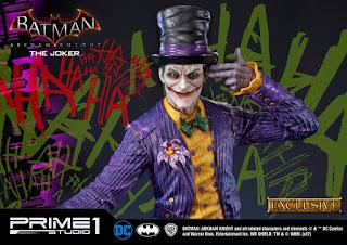 The Joker 1/3 de Batman Arkham Knight - Prime 1 Studio