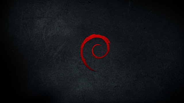 debian dark red scratches best widescreen background awesome