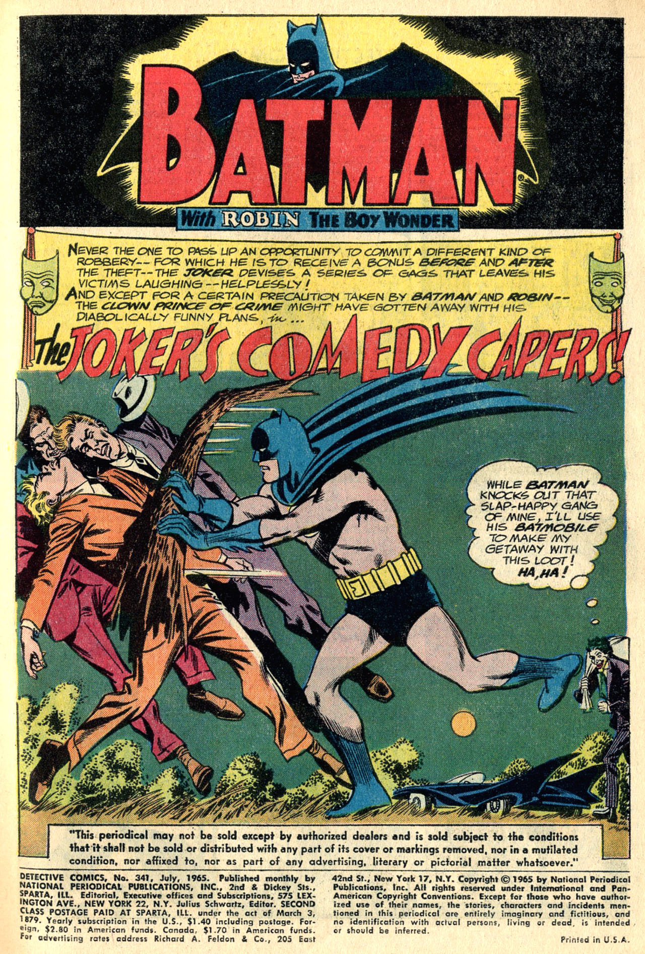 Detective Comics (1937) 341 Page 2