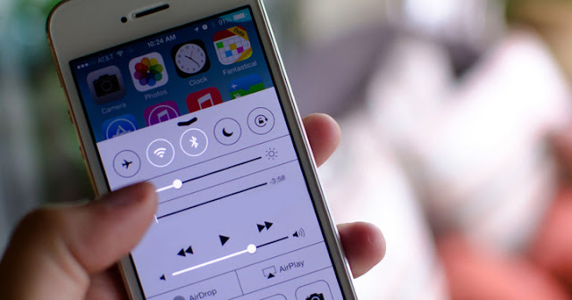 Reduce iPhone screen brightness by press the home button