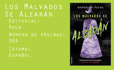 Los malvados se alzarán - Editorial Roca - 304 páginas - Español