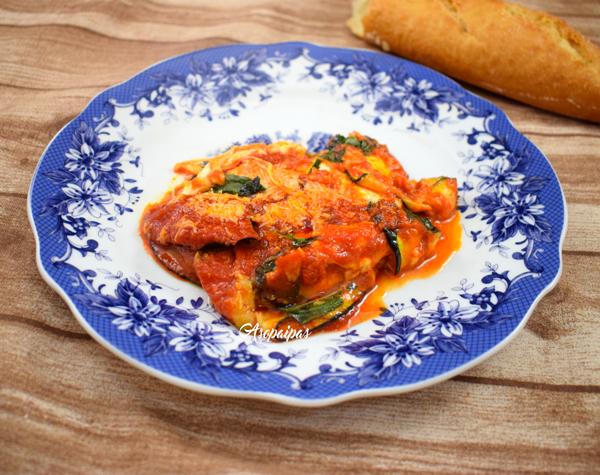 Parmesana de Calabacines