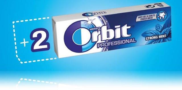 pareri guma Orbit Professional cu 12 pastile
