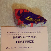 Winning painted stone