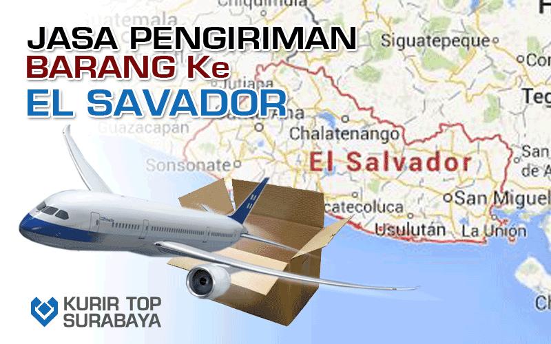 JASA PENGIRIMAN LUAR NEGERI | KE EL SALVADOR