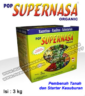 POP SUPERNASA NASA 3KG Rp.500.000,-