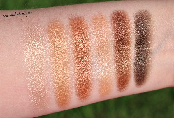 Maybelline Rooftop Bronzes Swatches