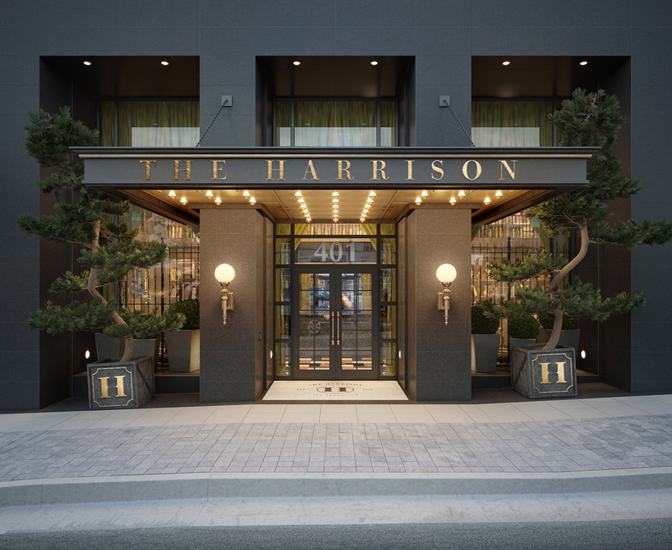 Exterior of The Harrison Hotel San Francisco