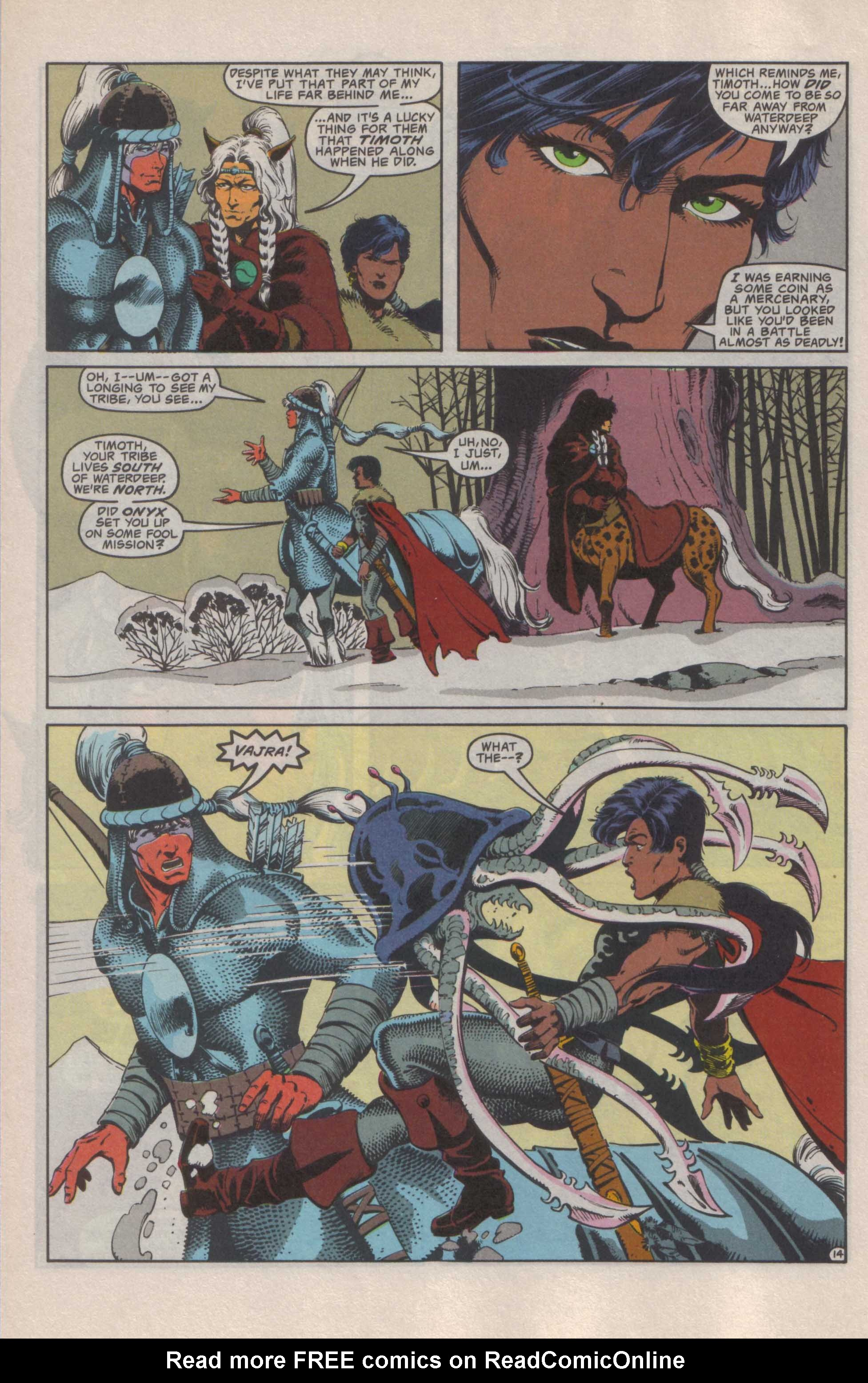 Read online Advanced Dungeons & Dragons comic -  Issue #25 - 15